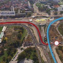 Grafički prikaz prometne regulacije na Remetinečkom rotoru (Foto: Dnevnik.hr) - 1