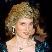 Diana 14. travnja 1986. na bečkom balu u haljini Catherine Walker