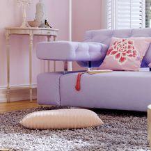 Ideje za uređenje doma u ljubičastim tonovima - 1