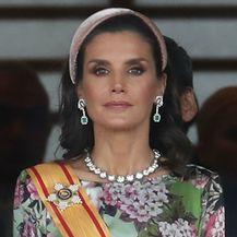 Kraljica Letizia u svečanoj haljini - 2