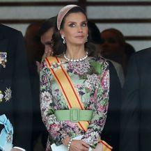 Kraljica Letizia u svečanoj haljini - 4