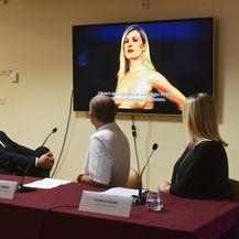 Predstavljanje javno zdravstvene kampanje Pinkypromiss za rano otkrivanje raka dojke (Foto: Davorin Visnjic/PIXSELL)