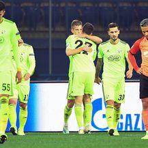 Olmo slavi gol protiv Šahtara (Foto: AFP)