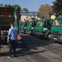 Kamioni za odvoz otpada (Foto: Dnevnik.hr)