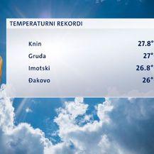 Temperaturni rekordi (Foto: Dnevnik.hr)