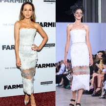 Slavne glumice i modeli u istim haljinama - 4