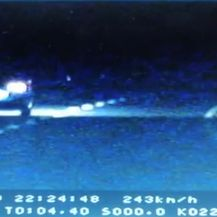 Jurili autocestom (Screenshot: PU brodsko-posavska)1