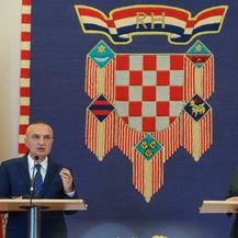 Kolinda Grabar-Kitarović i Ilir Meta (Foto: Robert Anic/PIXSELL)