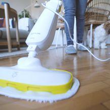 Operite pod parnim čistačem