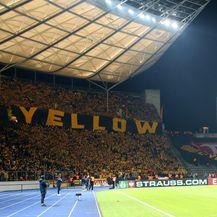 Navijači Dynamo Dresdena na gostovanju u Berlinu (Foto: NordPhoto/NordPhoto/PIXSELL)