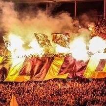 Navijači Dynamo Dresdena na gostovanju u Berlinu (Foto: Andreas Gora/DPA/PIXSELL)