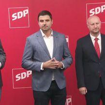 Peđa Grbin, Davor Bernardić i Željko Kolar