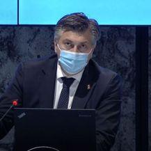 Premijer Andrej Plenković na sjednici Vlade