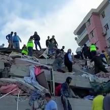Potres u Turskoj, Izmir