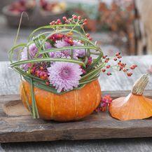 Ideje za dekoriranje doma s kraljicom jeseni bundevom - 12