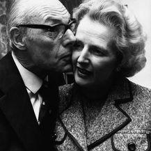 Denis i Margaret Thatcher