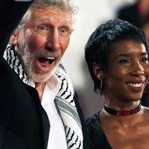Roger Waters i Kamilah Chavis - 1