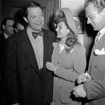 Rita Hayworth i Orson Welles na dan vjenčanja