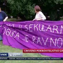 Crkveno pokroviteljstvo ginekološkog skupa (Video: Dnevnik Nove TV)