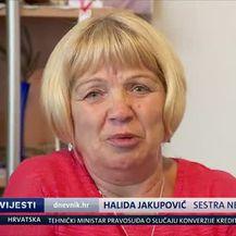 Sestra Sajida Krešića (Video: Dnevnik.hr)