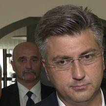 Andrej Plenković o prijetnjama A-HSP-a (Video: Dnevnik.hr)