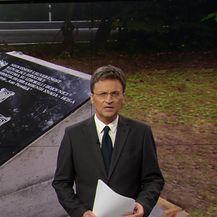 Ploča postavljena u Novskoj (Video: Vijesti u 17h)