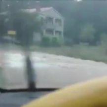 Nevrijeme poharalo Istru i riječko zaleđe (Video:Dnevnik Nove TV)