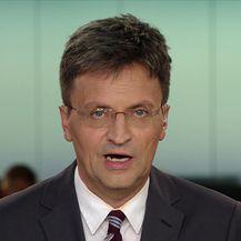 Keleminec održao skup pred SNV-om (Video: Dnevnik Nove TV)