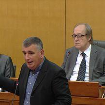 Grmoja u Saboru optužio Šukera za prijetnje (Video: Vijesti u 17h)