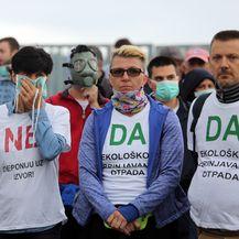 Prosvjed na Marišćini 3 (Foto: Pixsell, Goran Kovačić)