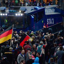 Prosvjedi u Chemnitzu (Foto: AFP)