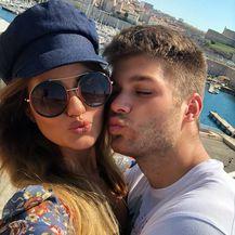 Duje Ćaleta Car i Adriana Đurđević (Foto: Instagram)