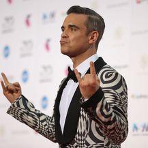 Robbie Williams i Ayda Field (Foto: Getty Images)