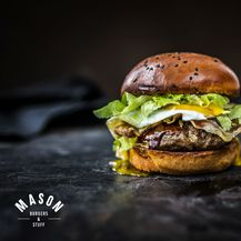 Mason burger