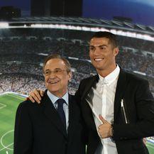 Florentino Perez i Cristiano Ronaldo (Foto: AFP)