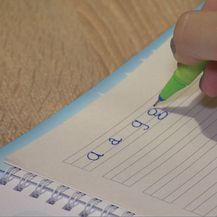 Vježba pisanja (Foto: Dnevnik.hr)