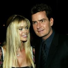 Denise Richards i Charlie Sheen (Foto: Getty)