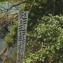 Dotok vode rijeke Vrljike još je uvijek slab (Foto: Dnevnik.hr) - 1