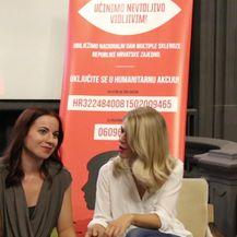 Ana Vilenica o humanitarnom projektu (VIDEO: Anamaria Batur)