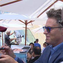 Ivana Nanut razgovarala s holivudskim glumcem Timom Dalyjem (Video: IN Magazin)