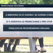 Stavke mirovinske reforme (Foto: Dnevnik.hr)