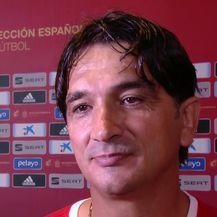 Zlatko Dalić u miks zoni nakon poraza od Španjolske