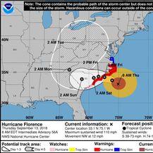 Uragan Florence (Foto: NOAA)