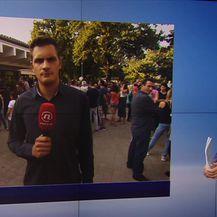 Dino Goleš o situaciji ispred škole u zagrebačkom Vukomercu (Video: Vijesti u 17 h)