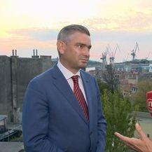 Ivana Brkić Tomljenović razgovara s gradonačelnikom Pule Borisom Miletićem o Uljaniku (Video: Dnevnik Nove TV) - 1