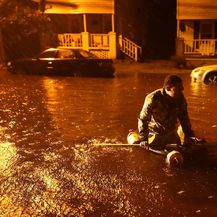 Uragan Florence 1 (Foto: AFP)