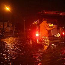 Uragan Florence 3 (Foto: AFP)