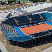 Stadion u Zadru za Davis Cup (Foto: Dino Stanin/PIXSELL)