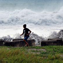 Super Tajfun Mangkhut (Foto: AFP)