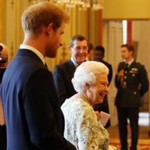 Princ Harry i kraljica Elizabeta (Foto: Getty Images)